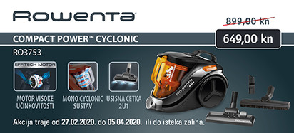 Rowenta - RO3753 Compact Power Cyclonic