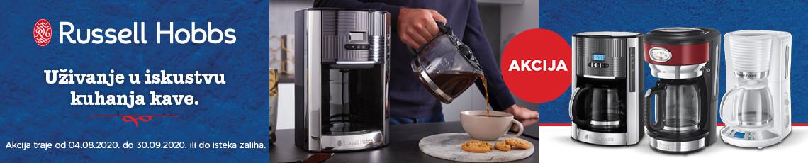 Russell Hobbs - akcija aparati za kavu