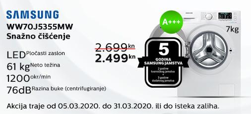 sam ww70j5355mw ožujak 2020