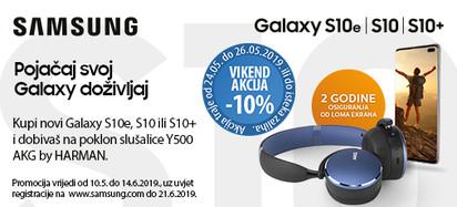 samsung  galaxy  s10 vikend akcija