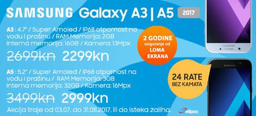 samsung galaxy a3 i a5 akcija srpanj