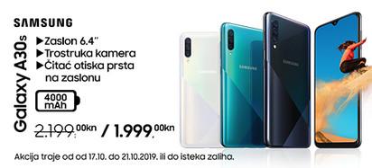 Samsung galaxy a30s akcija listopad