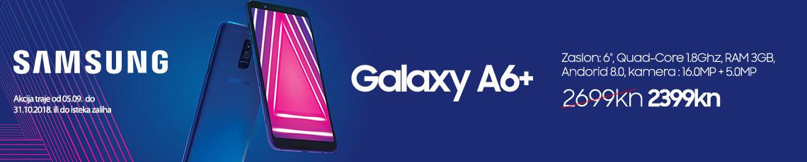 samsung galaxy a6 plus akcija rujan