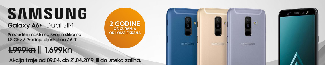 samsung galaxy a6plus akcija travanj