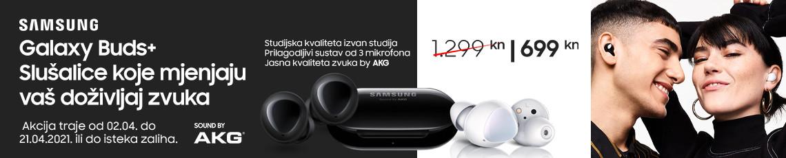 Samsung galaxy buds plus akcija travanj