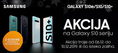 samsung galaxy s10 serija akcija