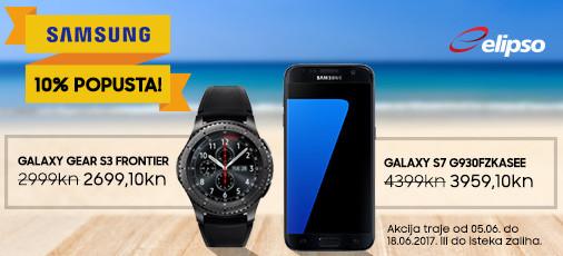 Samsung Galaxy S7 i Gear S3 akcija