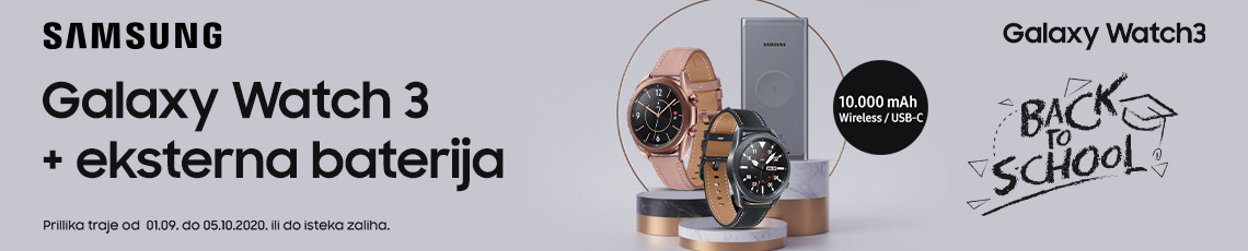 Samsung galaxy watch 3 prilika  rujan