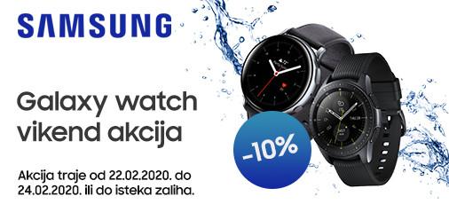 samsung galaxy watch akcija 10 posto