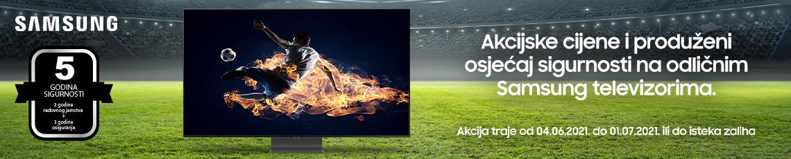 Samsung Televizori Akcija Nogomet 2021