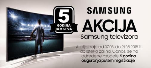Samsung televizori akcija ožujak