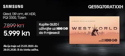 Samsung TV  QE55Q70RATXXH Akcija 2020
