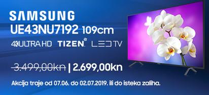 Samsung UE43NU7192UXXH Lipanj 2019