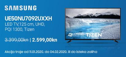 Samsung UE50NU7092 Akcija Siječanj 2020