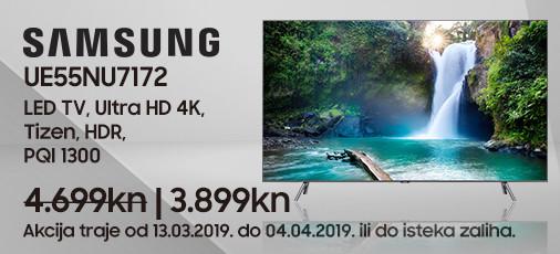 samsung ue55nu7172 akcija ožujak 2019