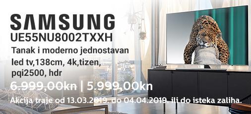 samsung ue55nu8002 akcija ožujak 2019