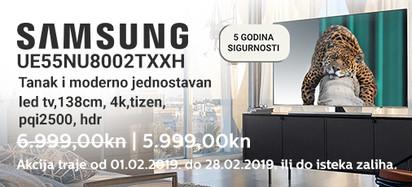 samsung ue55nu8002 akcija veljača 2018