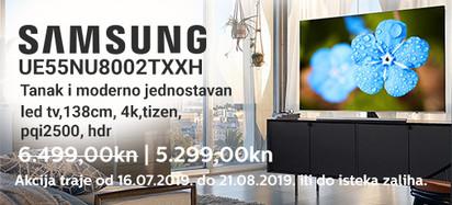 samsung ue55nu8002txxh akcija 2019