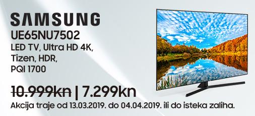 samsung ue65nu7402 akcija ožujak 2019