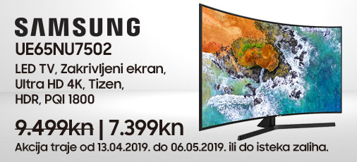 samsung ue65nu7502 akcija travanj 2019