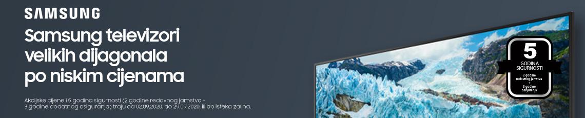 Samsung Velike dijagonale Akcija Rujan