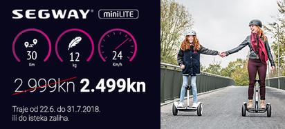 Segway Akcija miniLite Srpanj 2018