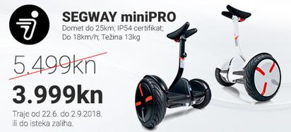Segway Akcija miniPRO Srpanj 2018