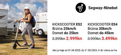 Segway Kick ES2 i Kick ES4