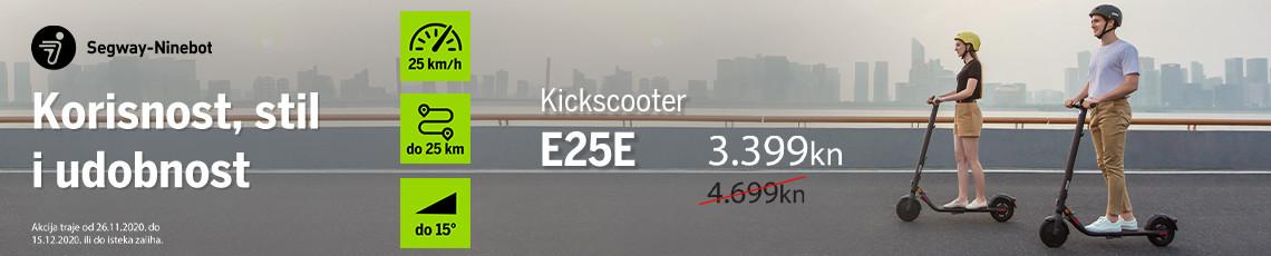 segway kickscooter e25e akcija