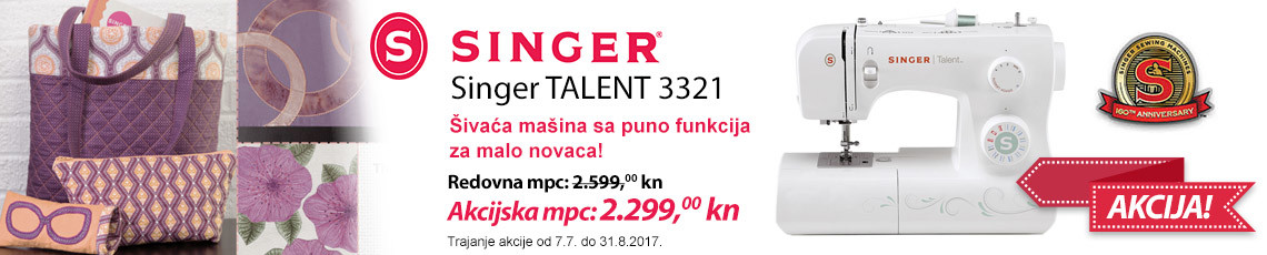 singer talent 3321 na akciji