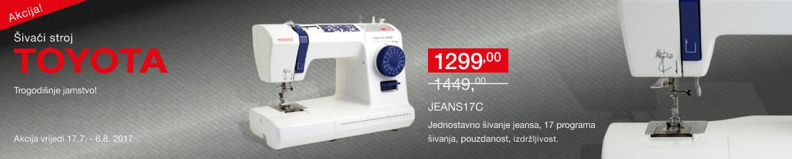 šivaća mašina  jeans 17c na akciji