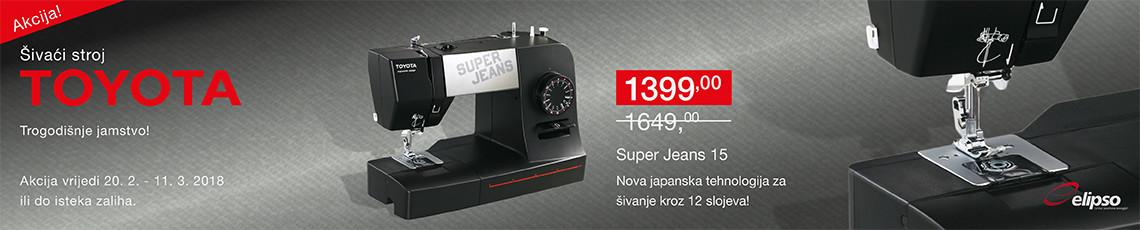 šivaća mašina super jeans 15 na akciji
