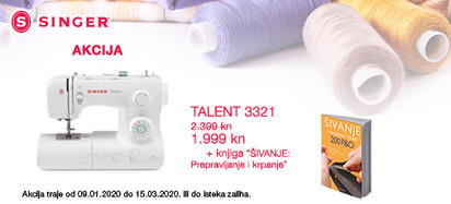 Šivaća mašina Talent 3321