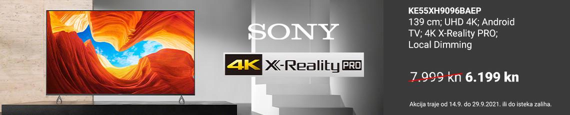 Sony akcija XH90 rujan 2021