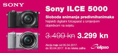 SONY ILCE5000 Akcija travanj 2017.