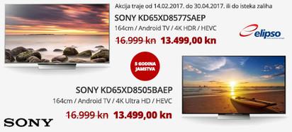 Sony KD65XD85xx Akcija 02-2017