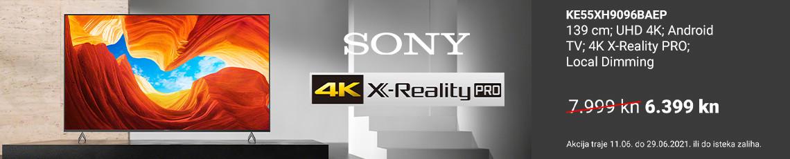 Sony ke55xh9096baep akcija lipanj