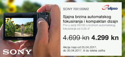 SONY RX100M2 Akcija travanj 2017.