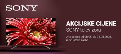 SONY TV  Akcija Svibanj 2020