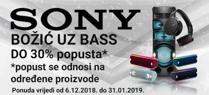 SONY X-Bass Akcija