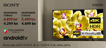 sony xg8096 akcija listopad 2019