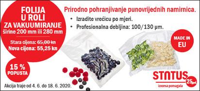 status vrećice za vakumiranje 04.06.2020