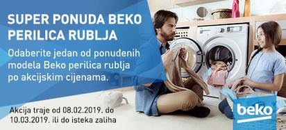 Super ponuda - perilice rublja Beko