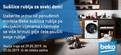 sušilice rublja, lipanj 2019