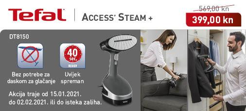 tefal access steam dt8150 akcija