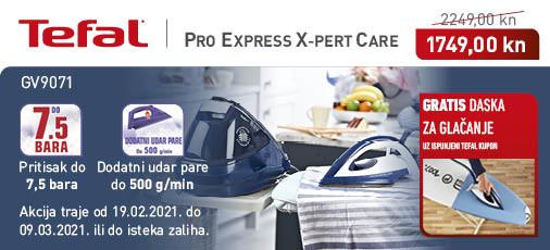 tefal pro express care gv9071 akcija
