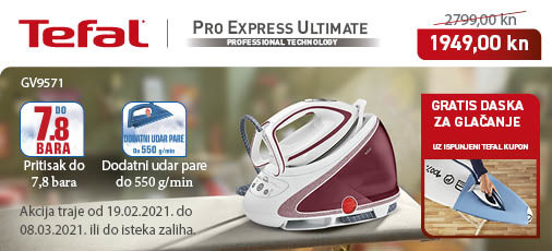 tefal pro express ultimate akcija