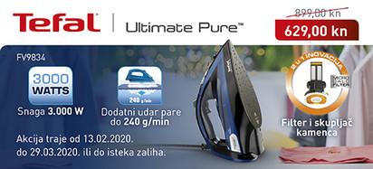 tefal ultimate pure fv9834