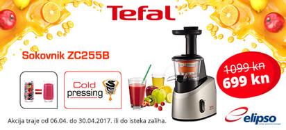 Tefal ZC255B akcija 2017
