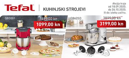 tefal - akcija kuhinjski strojevi